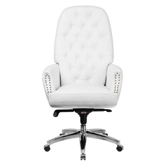 flash furniture high back leather multifunction executive chair