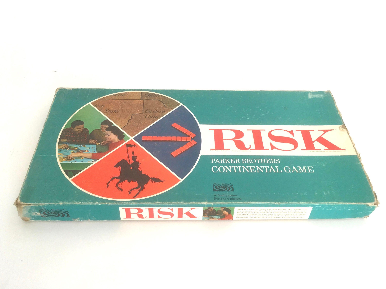 Vintage Aqua image by J.E. Hart Risk games, Handmade