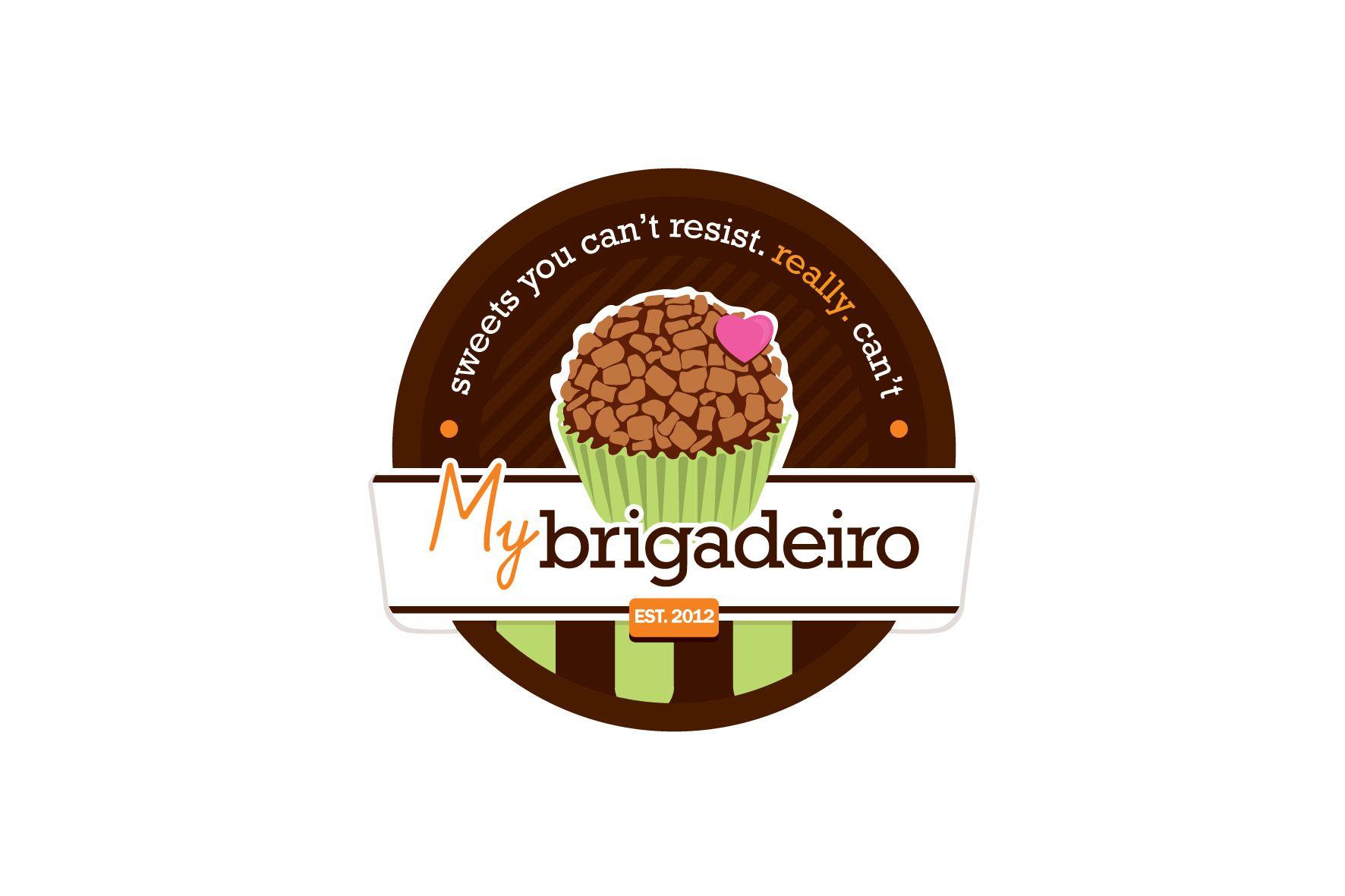 "Winning logo for ""My Brigadeiro"" Logo design contest on 99 designs #56 by Stevanus Gerald"