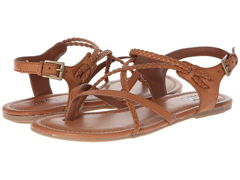 Mia Adrianna Brown Flat Sandals Via Alreadypretty