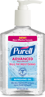 Purell Advanced Hand Sanitizer Thought It Was Funny It Says Kills The Most Germs Hand Sanitizer Sanitizer Wipes Diy