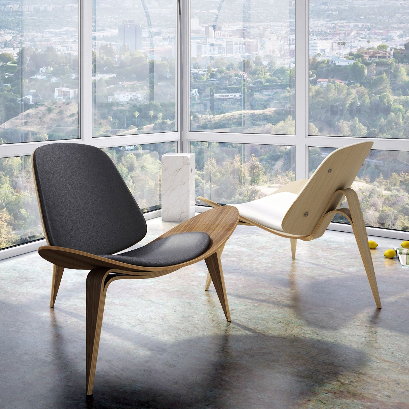 hans wegner shell chair | truly appreciate, shell and modern