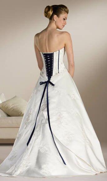 Vestido de novia espalda tipo corsé | vestidos | Pinterest | Corsé ...