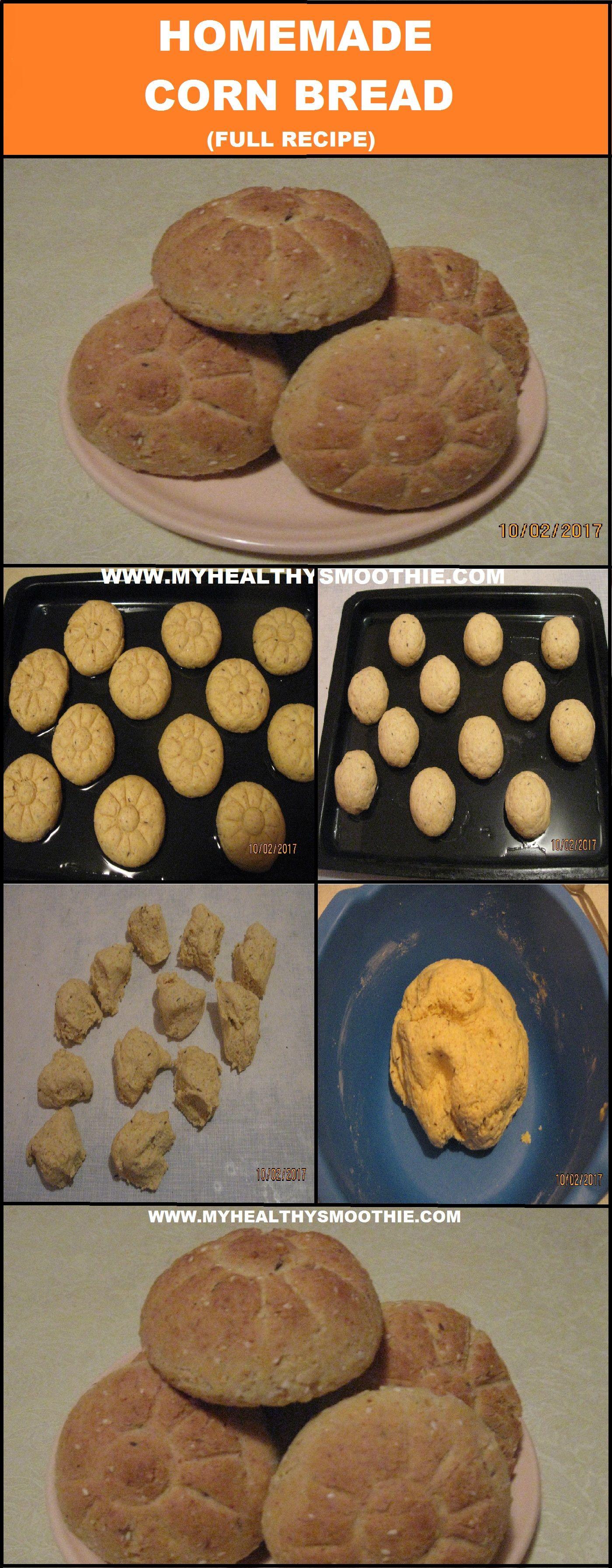 Homemade Corn Bread Recipe | Homemade cornbread, Corn ...