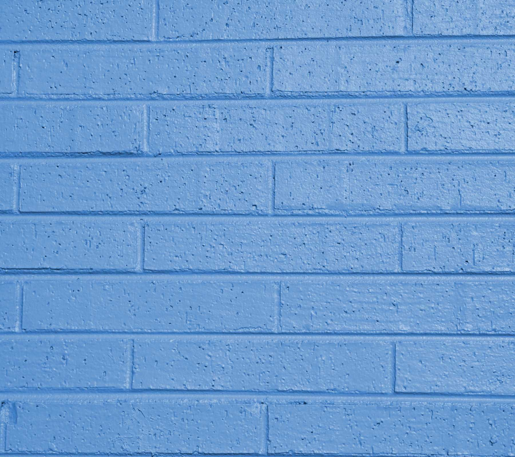 Light Blue Painted Brick Wall Background Image Wallpaper Or