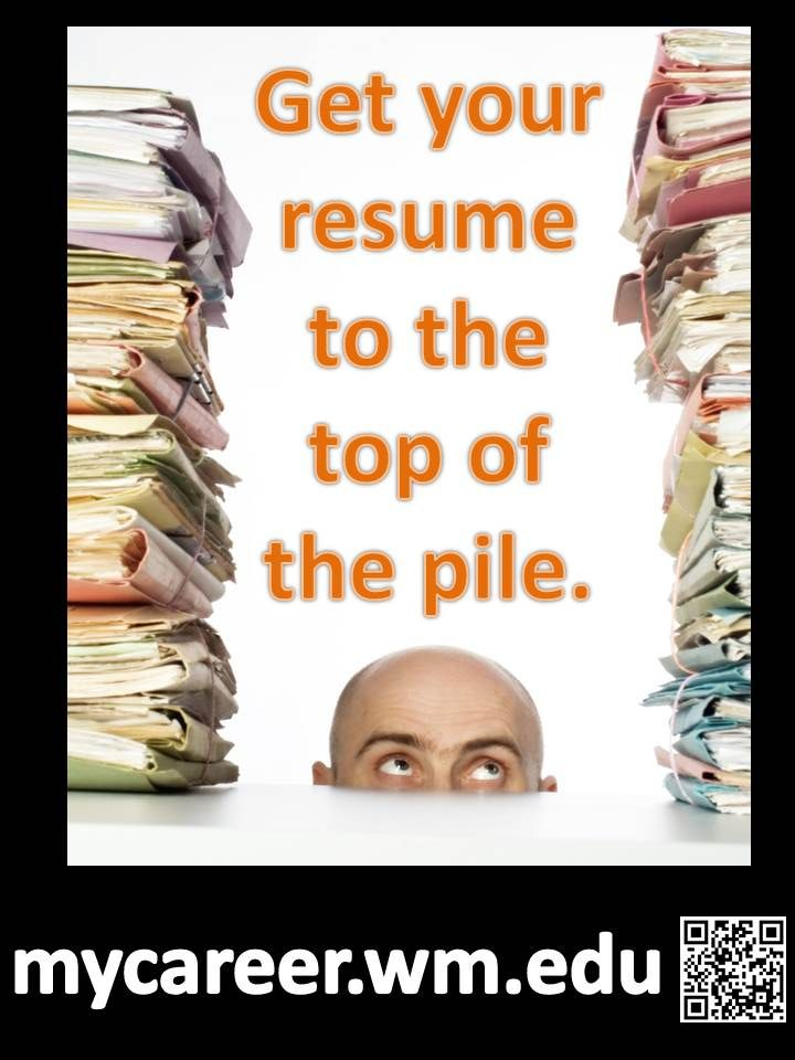 Whatu0027s going to put your resume at the top of the pile? Weu0027ve got - what to put in your resume