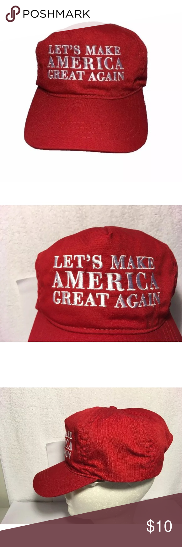 Trump Lets Make America Great Again Hat Usa Made How To Make Things To Sell Let It Be
