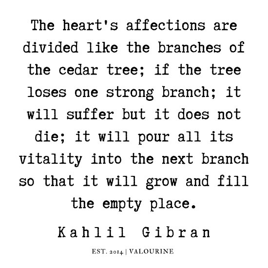 97 | Kahlil Gibran Quotes | 190701 Poster by valourine