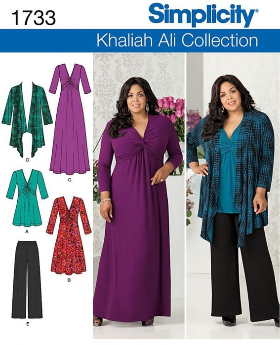 Free Simplicity Pattern 1733 To Download: Sizes 46-54 from http ...
