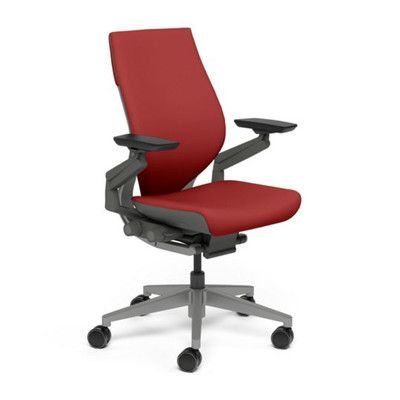 office chair upholstery repair best value computer steelcase gesture high back executive products pinterest cogent connect scarlet 5s18 style upholstered wrap frame finish platinum