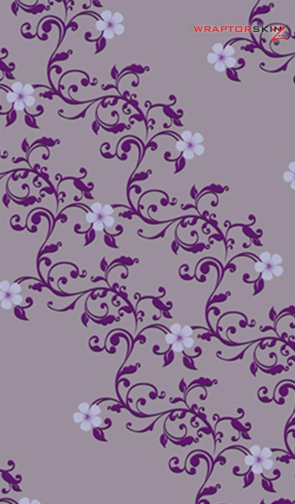 Victorian Purple Wallpaper Kindle Fire Original Decal Style Skin Victorian Design Purple Flowery Wallpaper Wallpaper Backgrounds Charcoal Wallpaper
