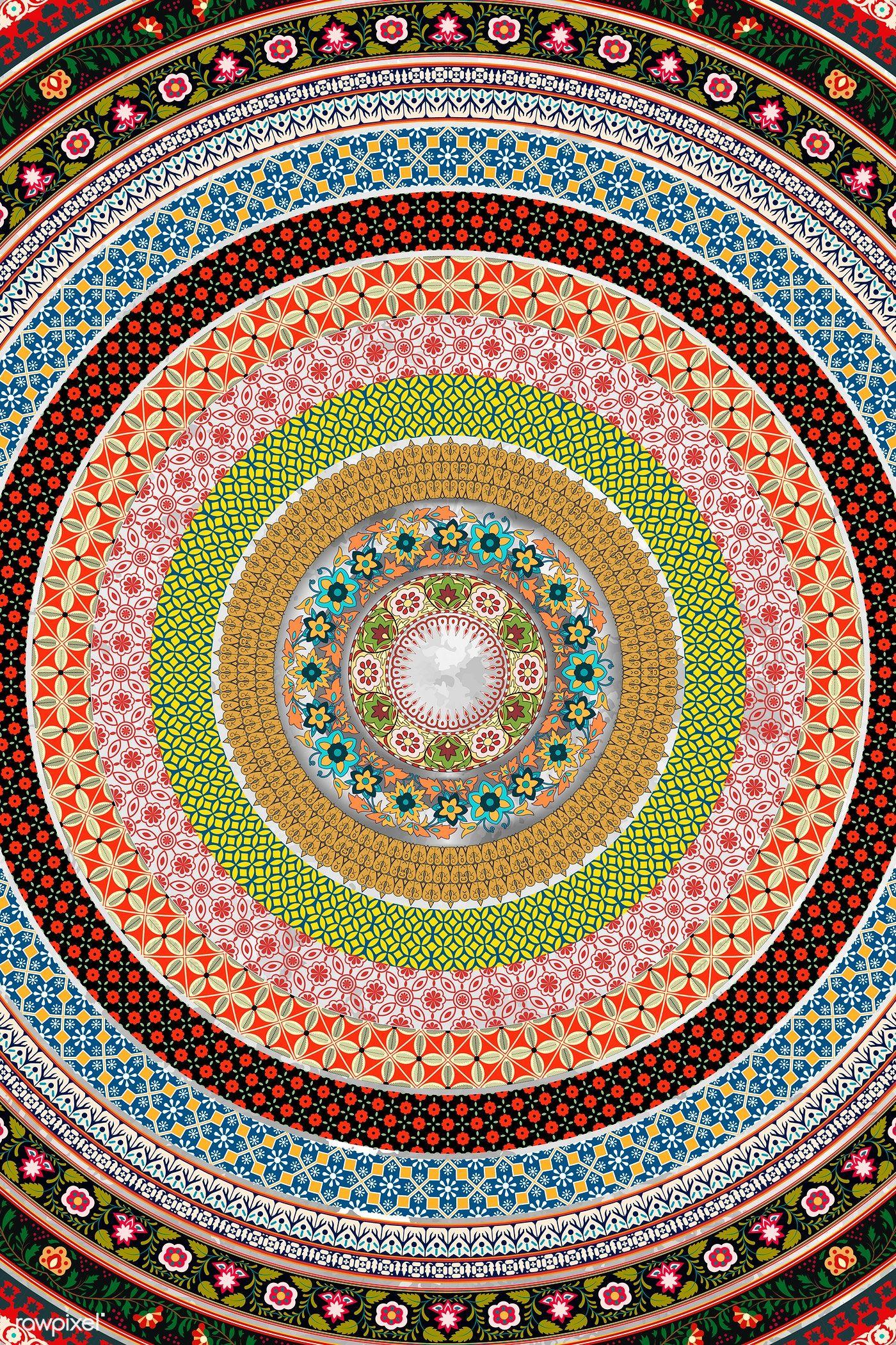 Download Premium Illustration Of Indian Floral Pattern Brush