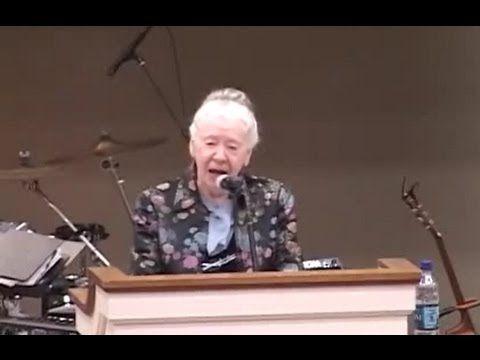 Sis  Nona Freeman preaching~