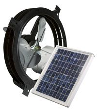 Air Vent Solar Powered Gable Attic Vent Solar Gable Fan Gable Fans Best Solar Panels