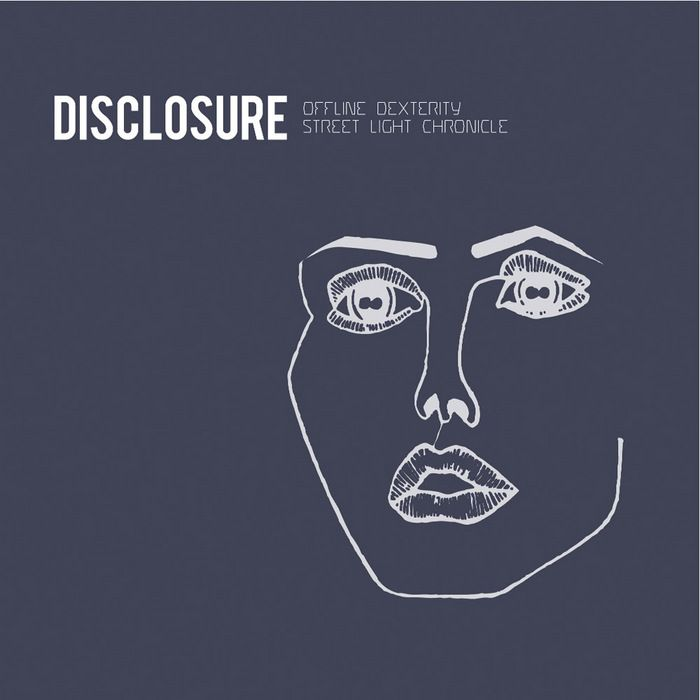 "Disclosures ""face"" used as an EP cover... 