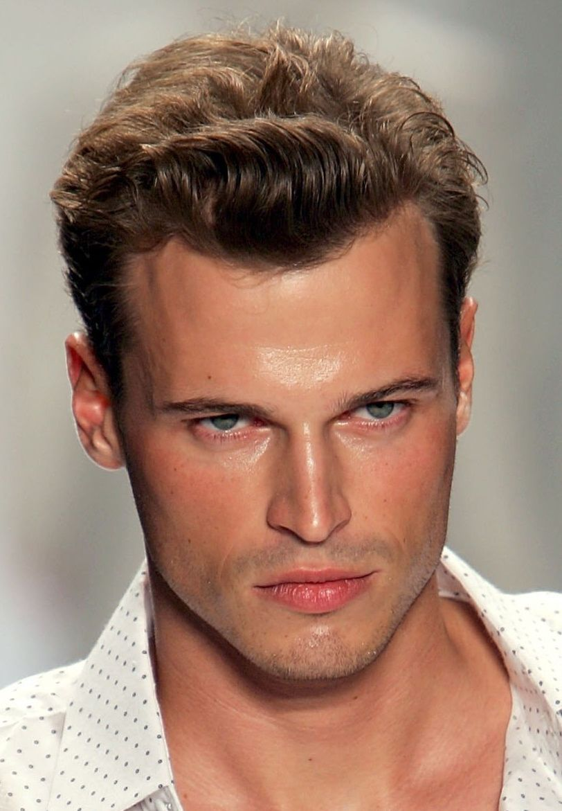 Mens haircuts widows peak fashion and style  marvelouse manley mane of hair i love uc