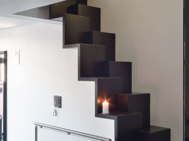 escalier a pas alternes stairs pinterest escaliers chelles et escalier japonais. Black Bedroom Furniture Sets. Home Design Ideas