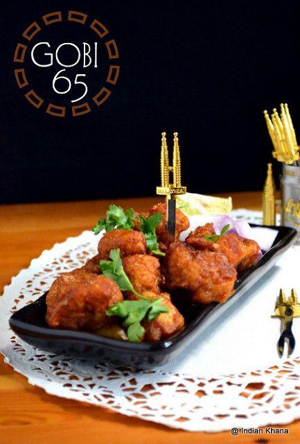 Indo-Chinese, Gobi, Cauliflower, Gobi 65 Recipe, Chilli Gobi Recipe, Cauliflower 65 Recipe, Gobi 65 North Style, North Indian Recipes, Snacks, Appetizer Recipes, Kids Menu, Party Menu,