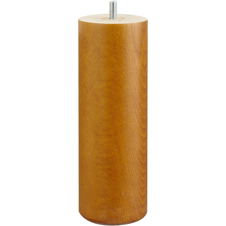 Pied De Lit Sommier Cylindrique Fixe Hetre Teinte Marron 20 Cm Avec Images Pied De Lit Lit Sommier Sommier