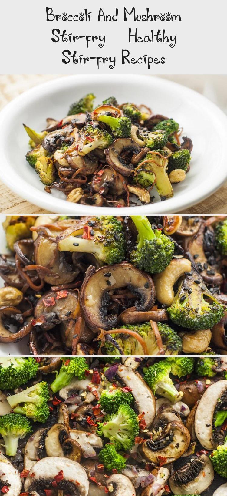 Broccoli And Mushroom Stir-fry | Healthy Stir-fry Recipes #healthystirfry