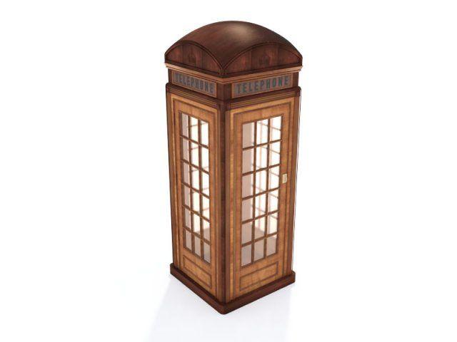 Classic British Phone Booth