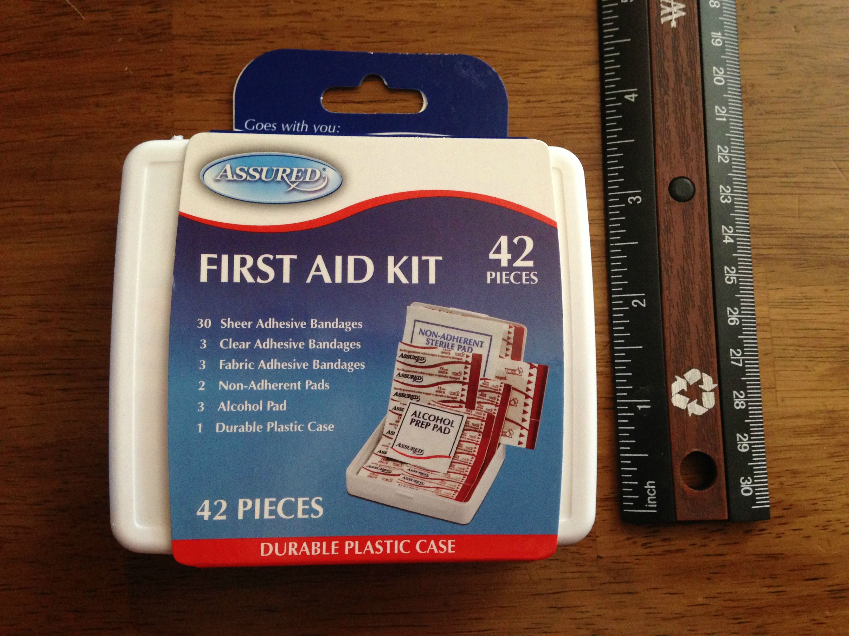 Operation Christmas Child Dollar Tree First Aid Kit