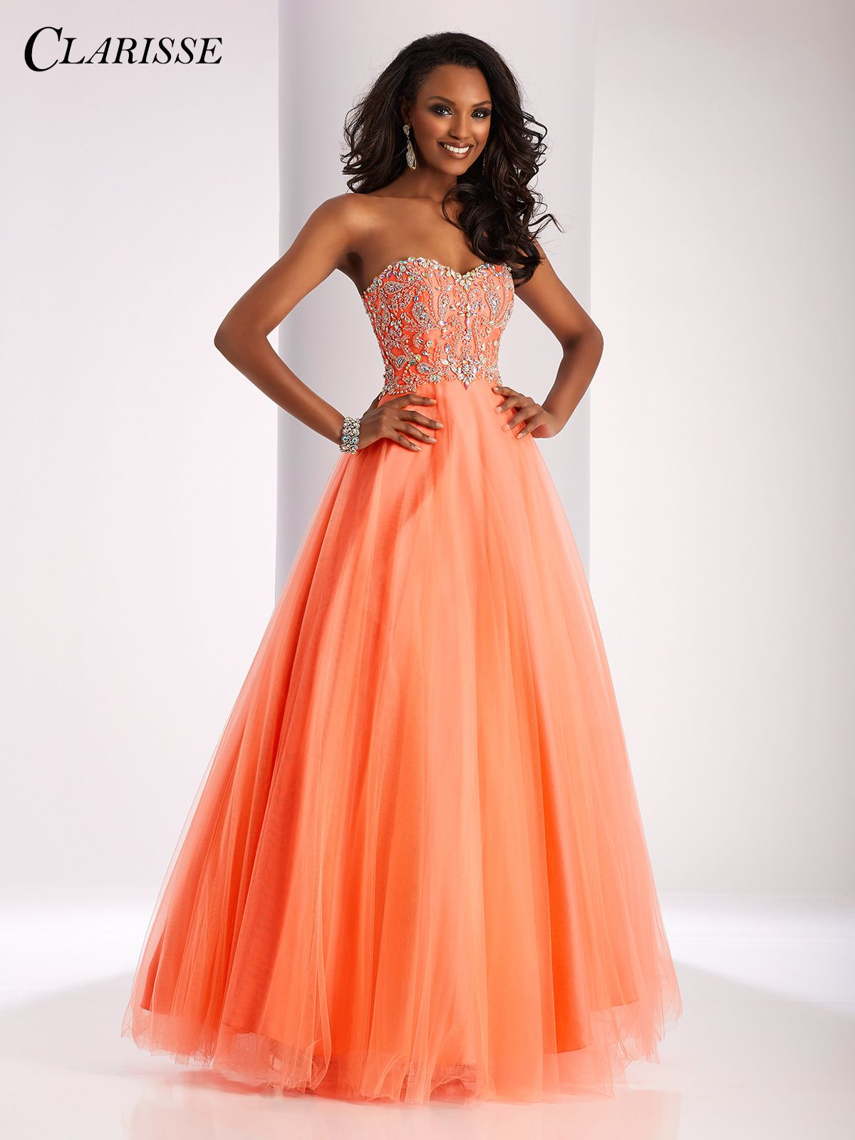 Clarisse 2017 prom dress style 3012. A classic strapless ...