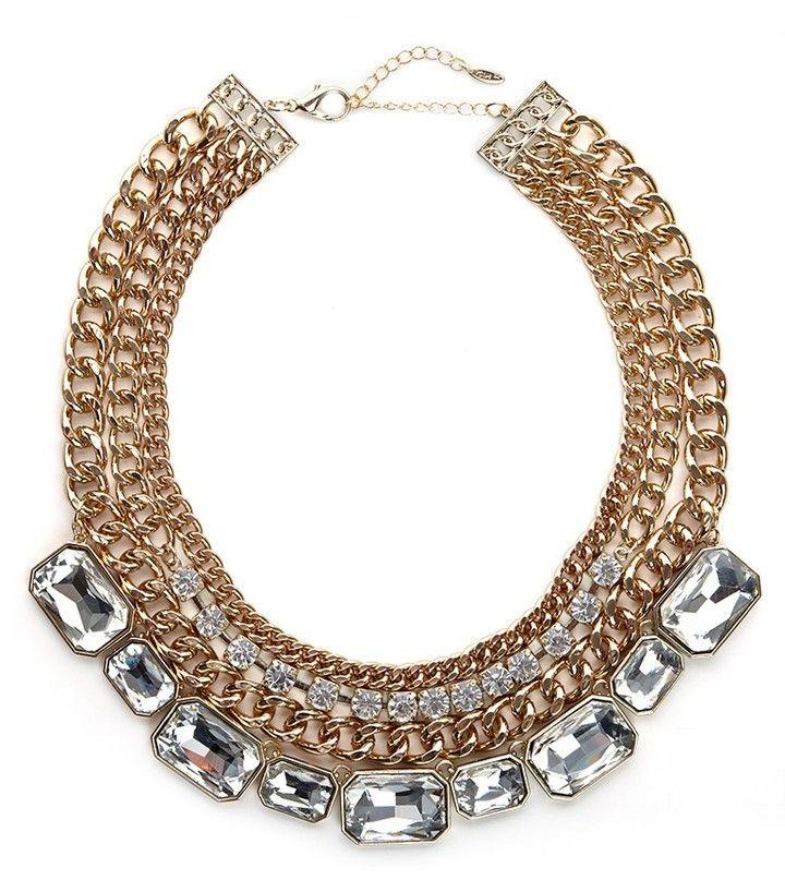 BaubleBar Tiered Gem Collar on shopstyle.com