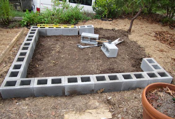Do It Yourself Home Design: How To Build A Floating Deck On Dirt