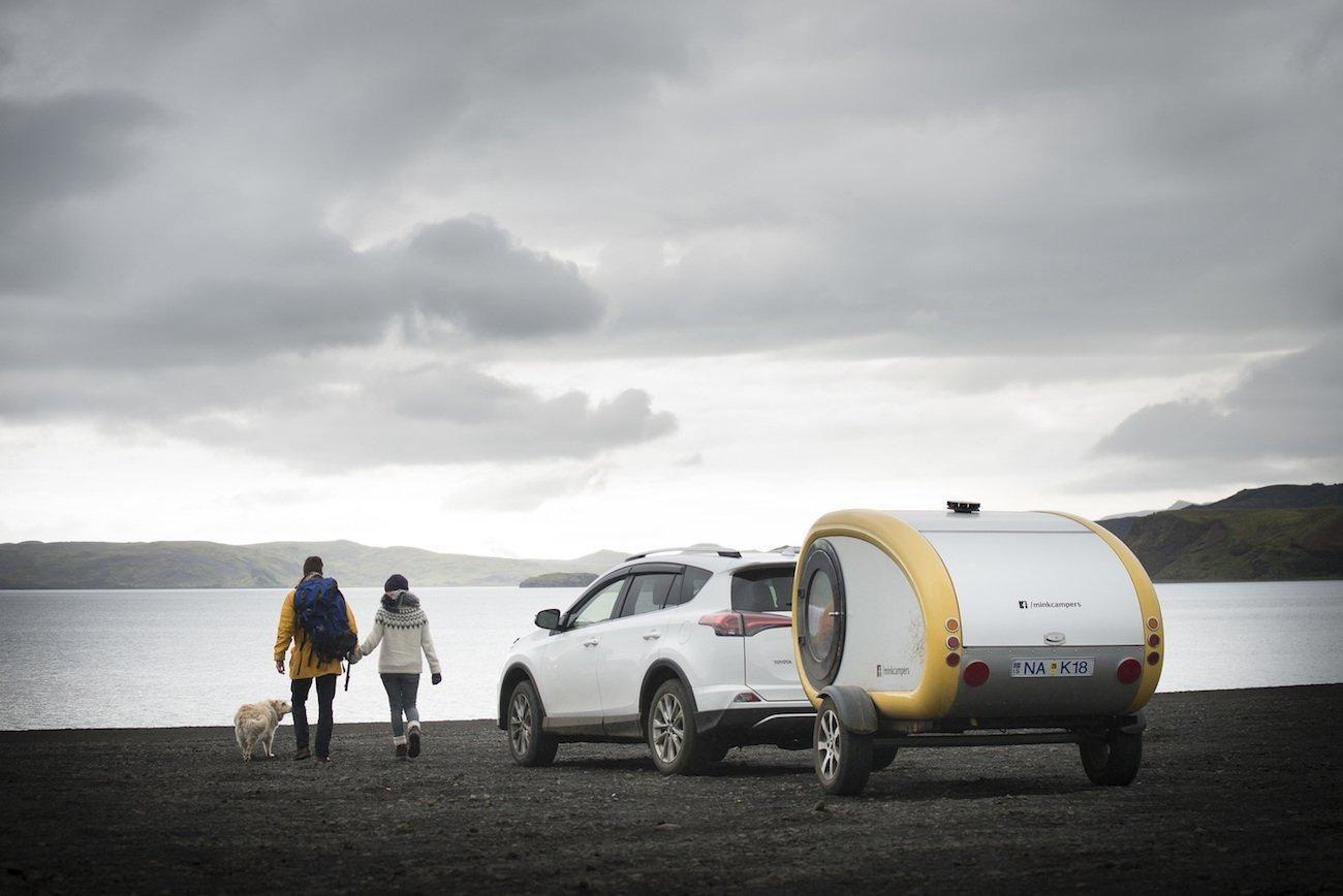 Mink Camper Icelandic Mini Trailer Mini camper, Iceland