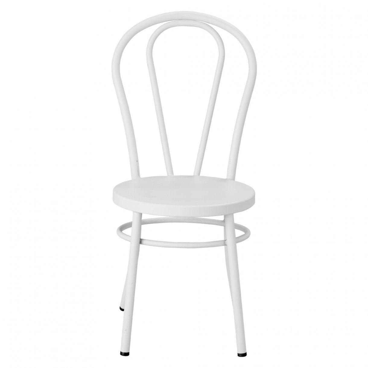 Weißer Metall Stuhl Überprüfen Sie mehr unter http://stuhle.info ...