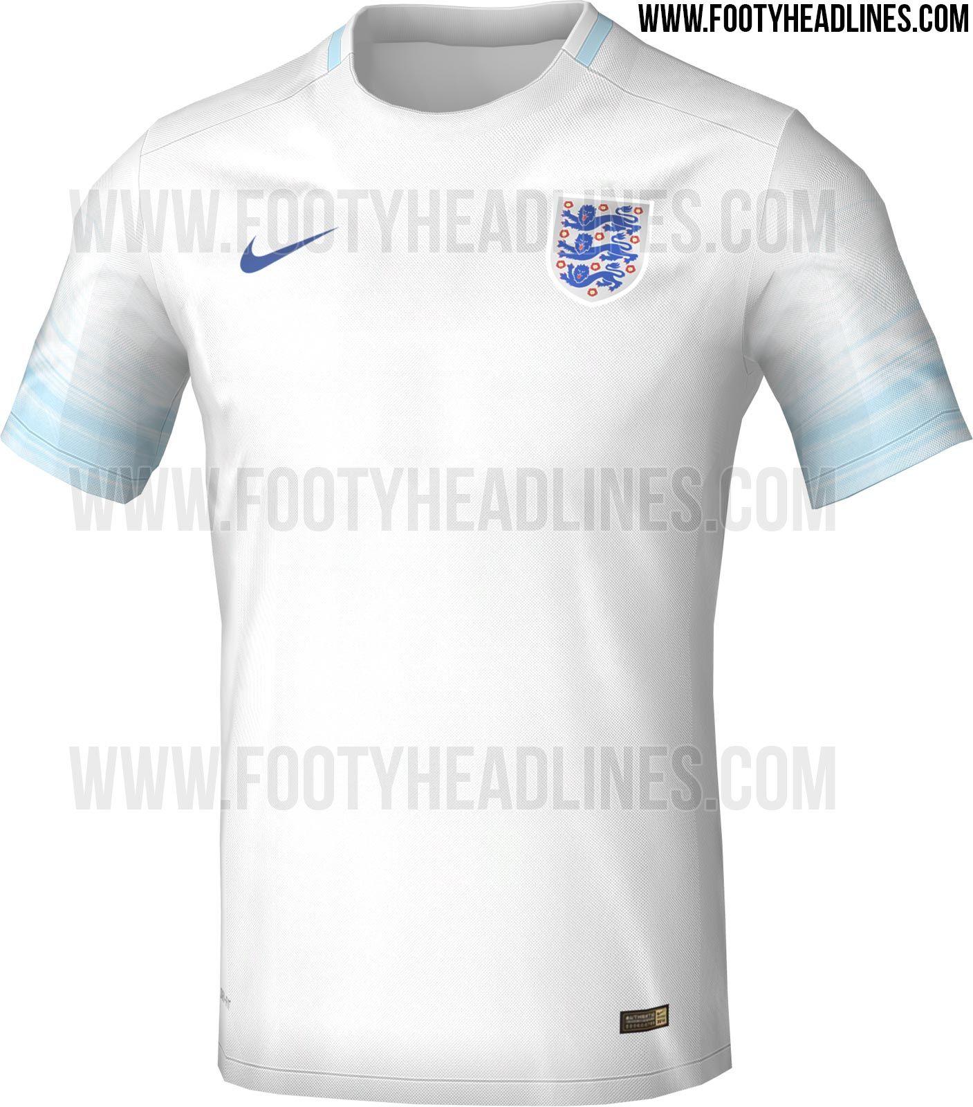England Euro 2016 Kit Leaked Footy Headlines Sport
