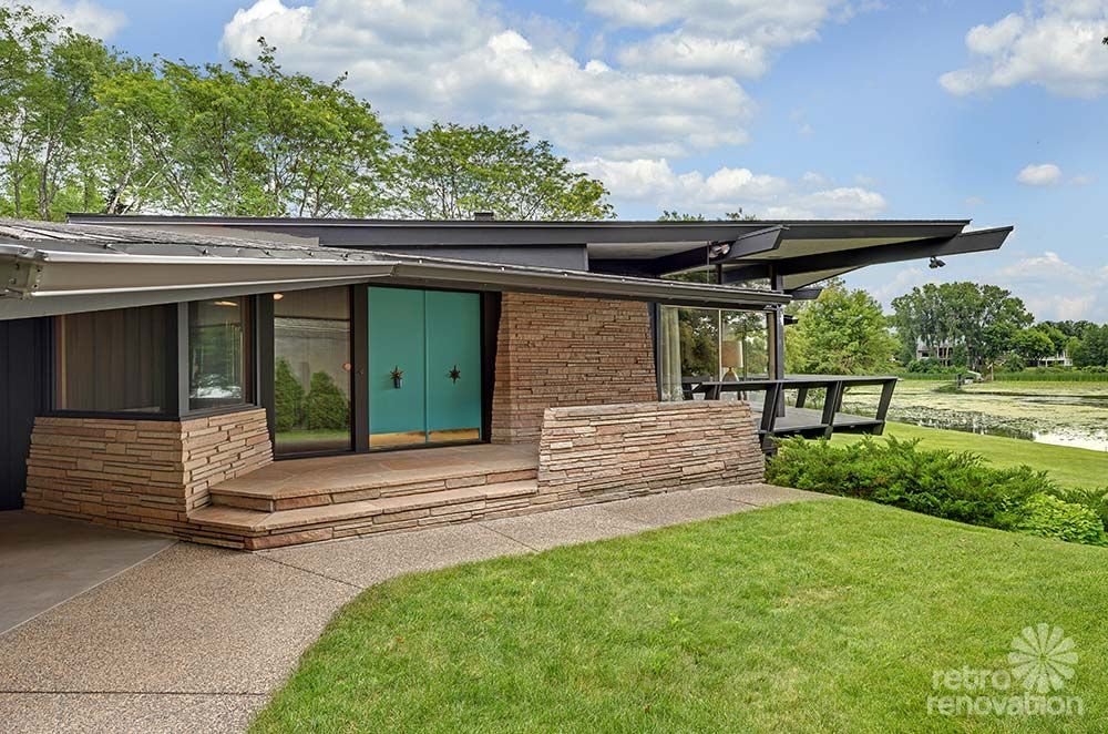 stunning spectacular 1961 mid century modern time capsule house in minnesota 66 photos mid. Black Bedroom Furniture Sets. Home Design Ideas