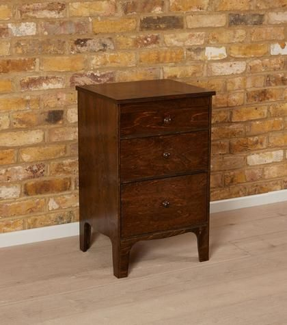 Bedroom Furniture Bedside Cabinets And Tables 3 Drawer Modern Wooden S Warren Evans