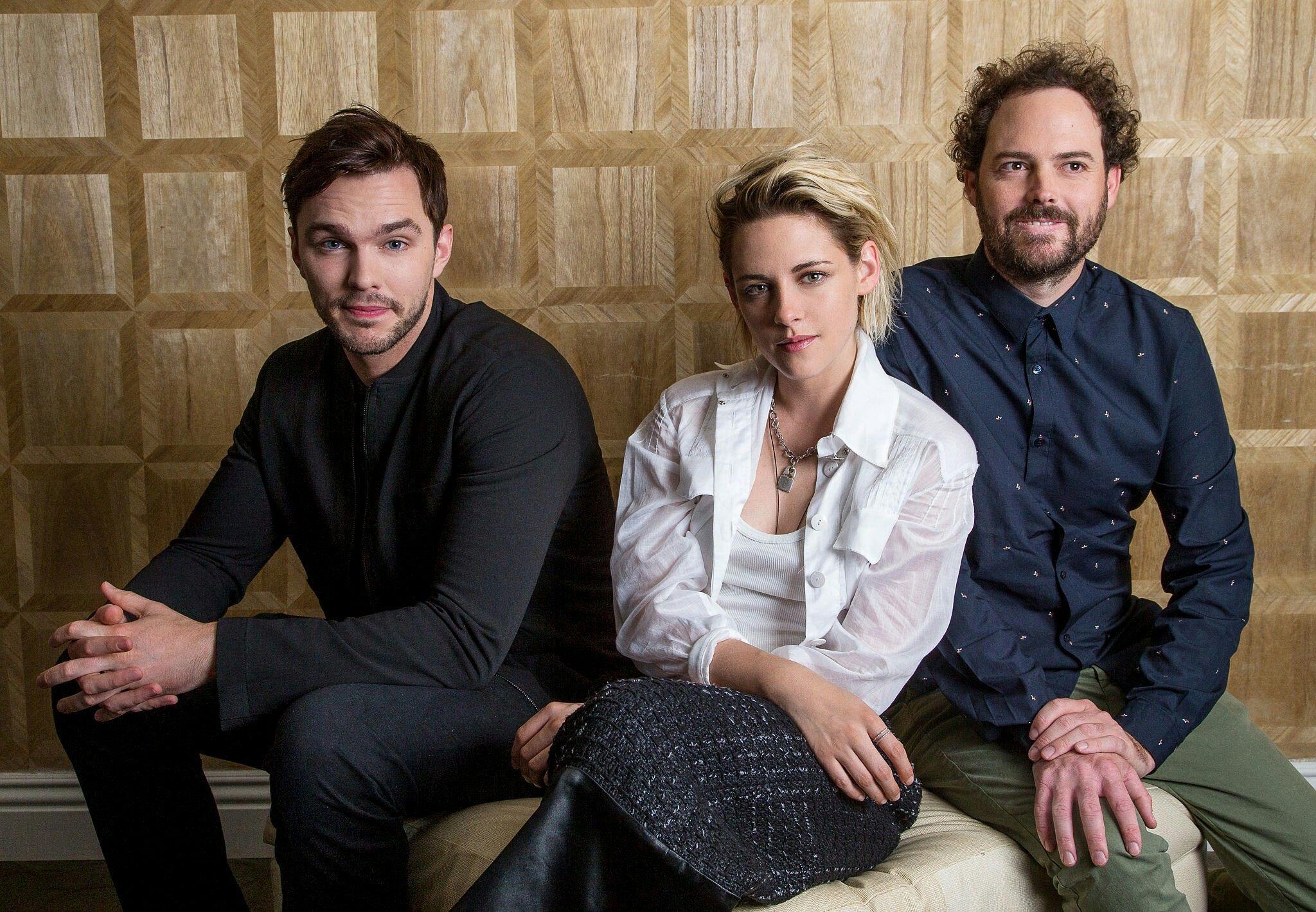L.A. Times Portraits With Kristen, Nicholas Hoult, & Drake Doremus