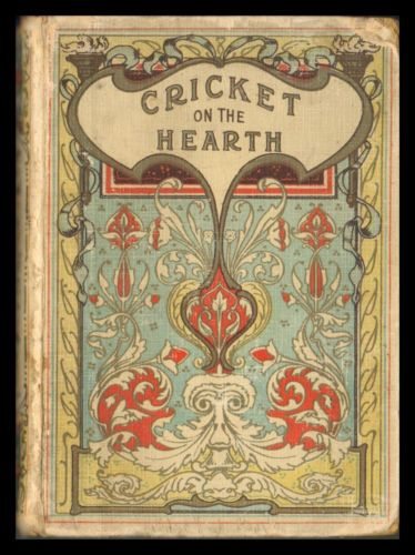 Charles-Dickens-THE-CRICKET-ON-THE-HEARTH-Christmas-Story-SCOTTISH-ART-NOUVEAU