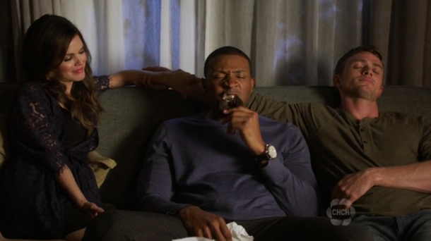 Hart of Dixie - Zoe, Wade and Lavon