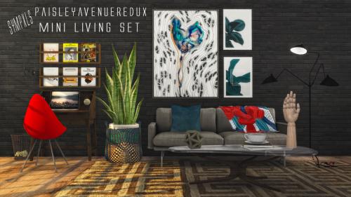 Sims 4 CC's - The Best: PaiselyAvenueRedux Mini Set by Sympxls