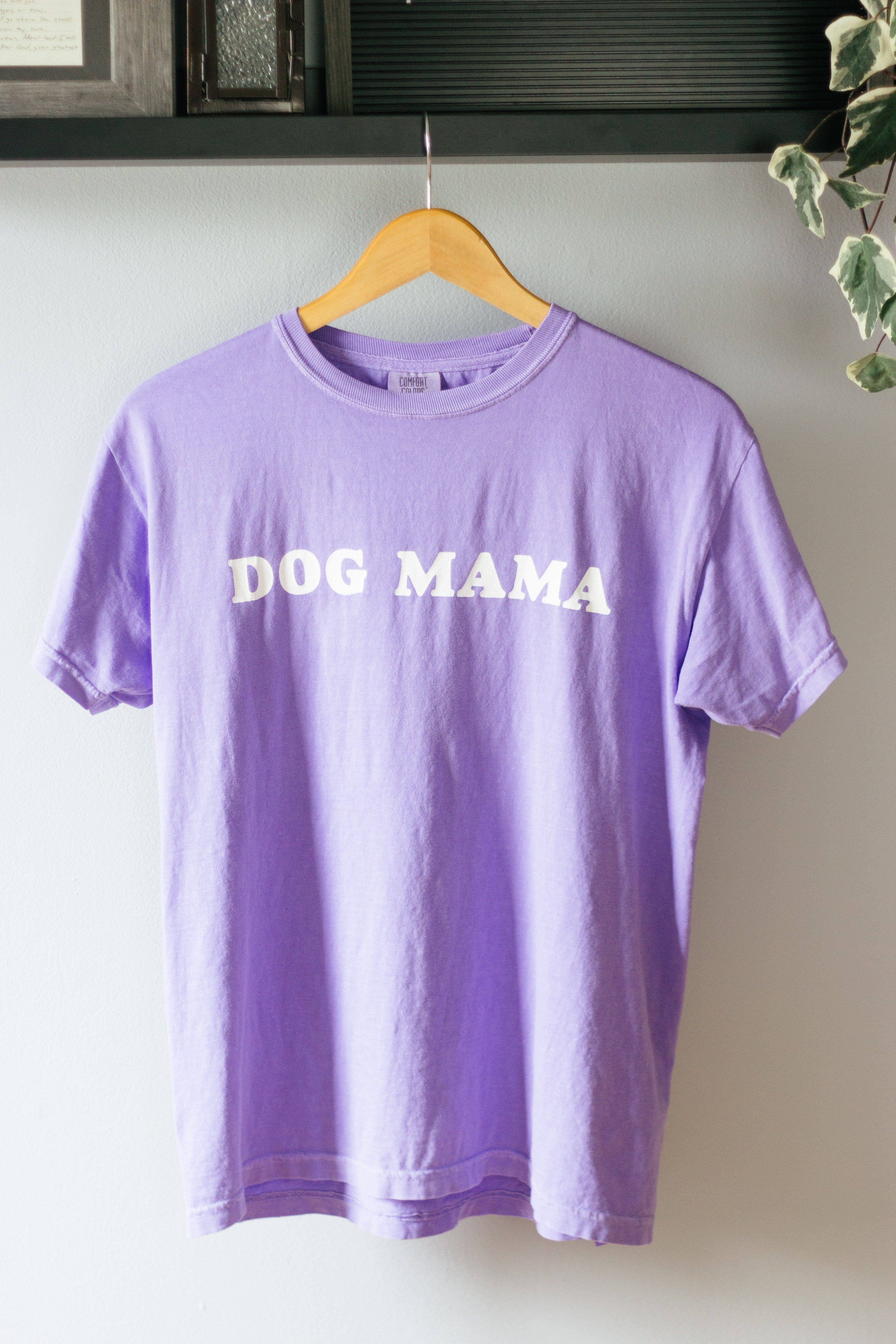 Create your very own Dog Mama screen printed tshirt with
