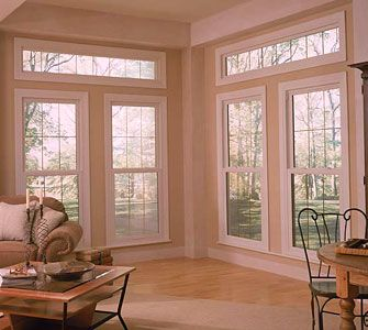 Transom Windows Bow Angled Bay Arced Arched Setting Along Sill Section