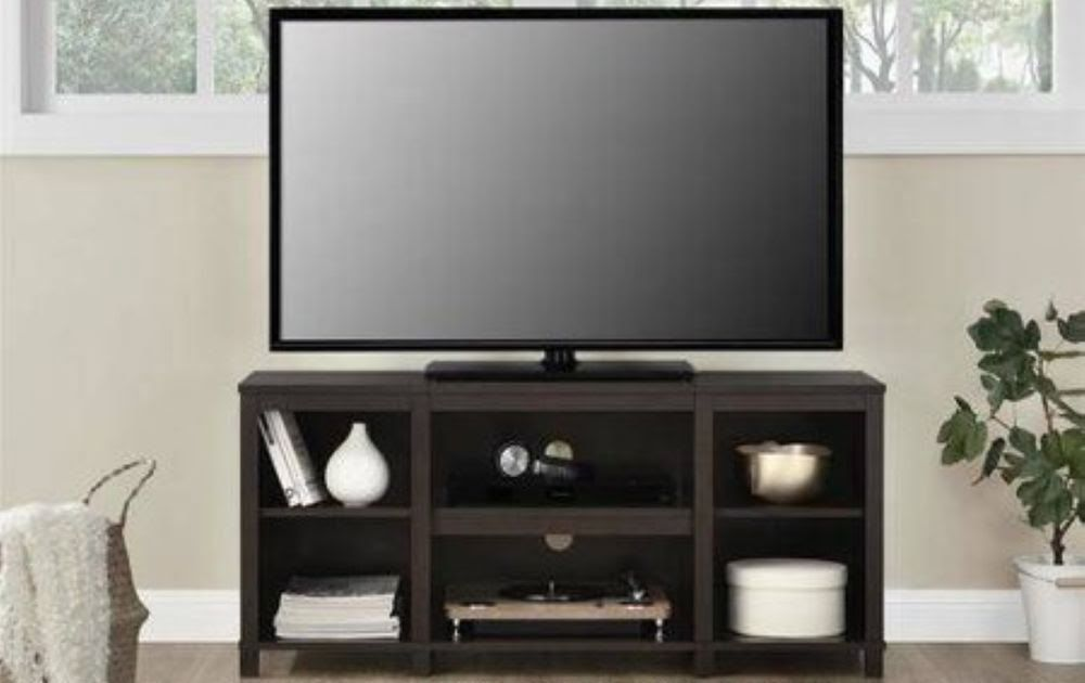 Tv Stand 50 Inch Flat Screen Home Entertainment Console Furniture