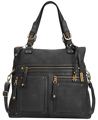 Lucky Brand Cargo Foldover Tote Handbags Accessories Macy S