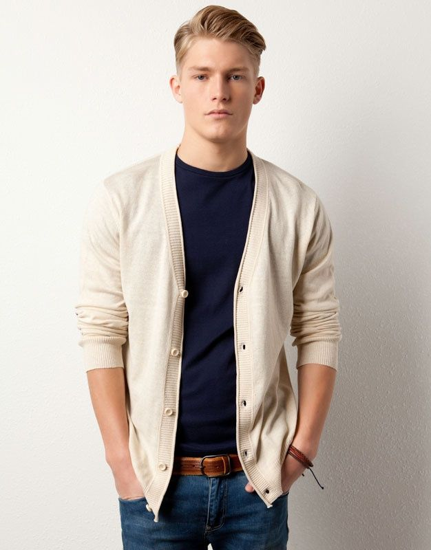 Cardigans are a great way to add layers to a guy's outfit. | Men ...