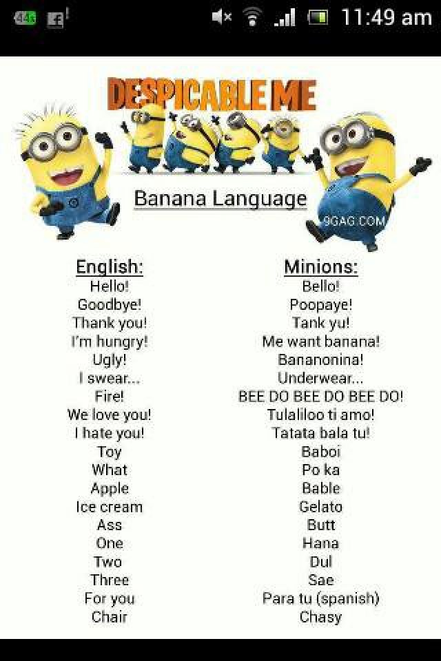 Minions from Despicable Me 2