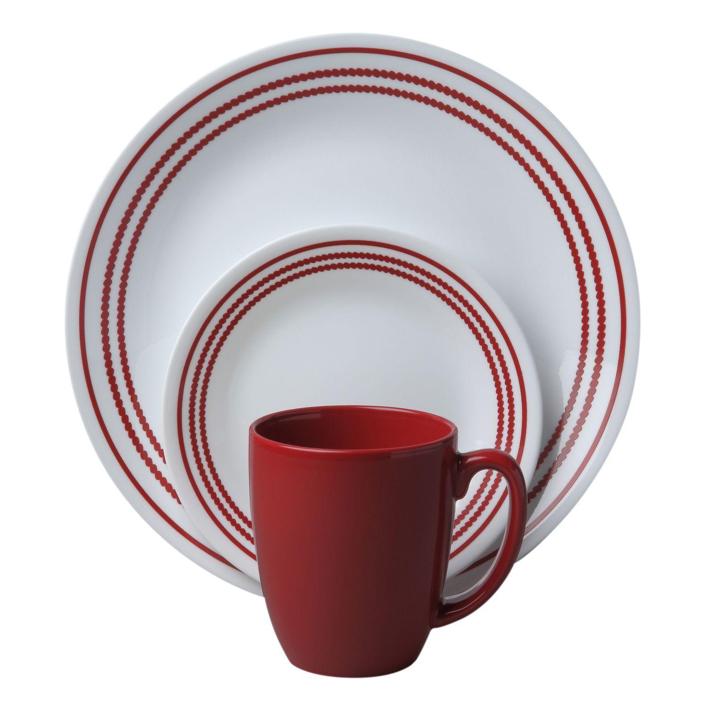 Corelle® Livingware™ Ruby Red 16-Pc Dinnerware Set - BUY NOW ...