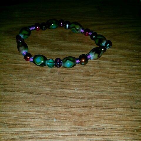 I made these bracelet