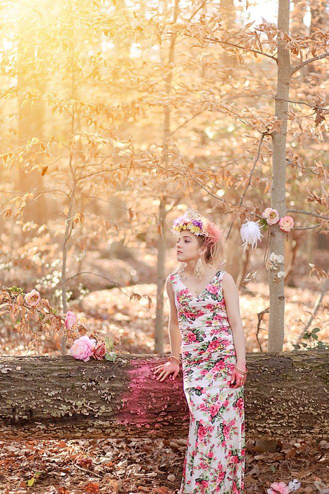 Be Minked   Floral Inspired Bridal Style   http://beminked.com