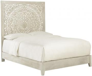 Chennai Bed Our Chennai Bed S Elaborately Carved Headboard Makes
