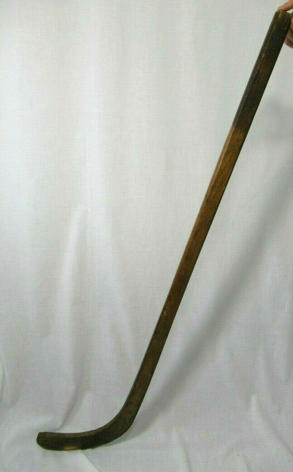 Hockey Stick Wood 1800s E K Tryon