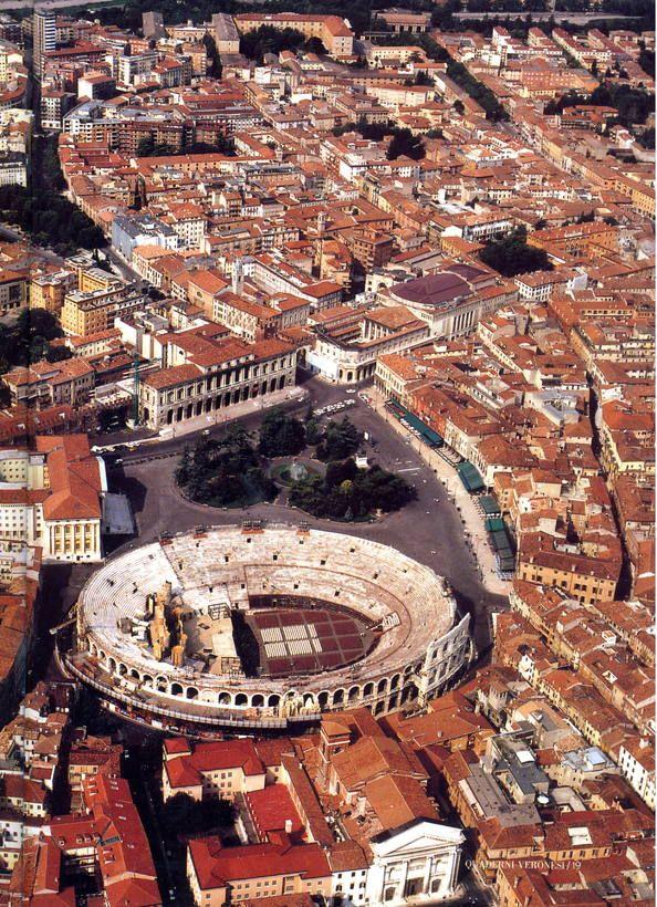 Ciudad de Verona Italia.